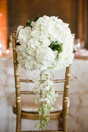 Hydrangea Rose Chair Flowers