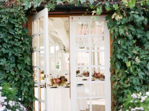Ivy Covered Reception Entrance