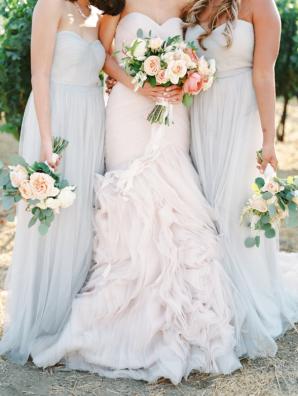 Jenny Yoo Pale Blue Bridesmaid
