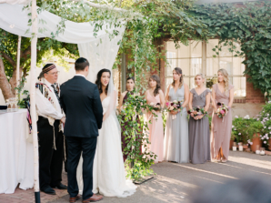 Jewish Garden Wedding Ceremony