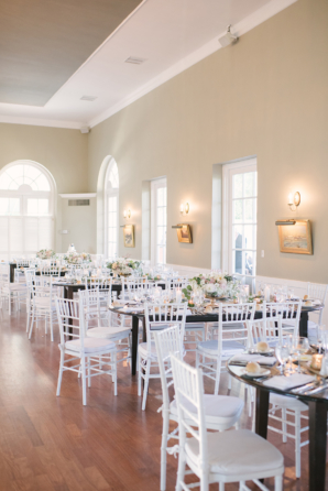Light and Airy Country Club Reception