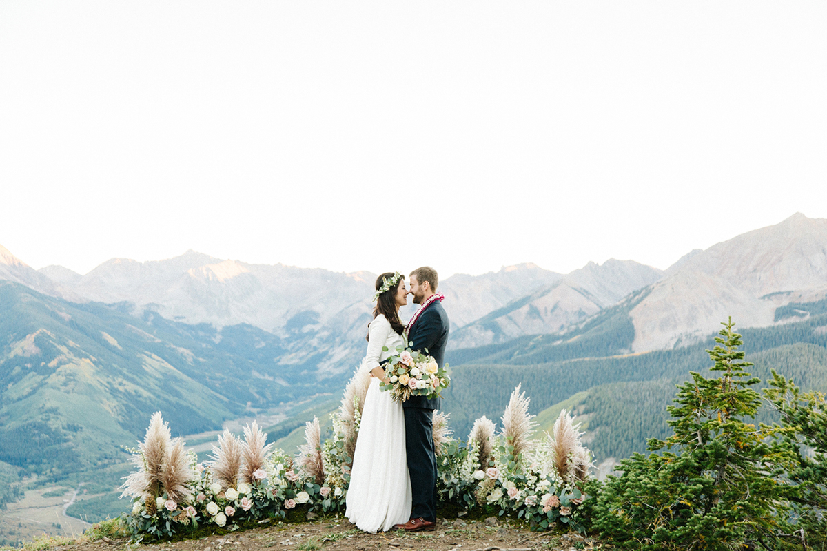 Aspen Wedding At The Smith Cabin Elizabeth Anne Designs