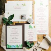 Mountain Wedding Invitations