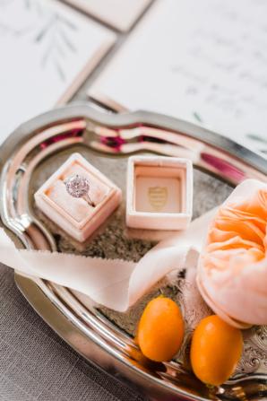 Mrs Box in Peach