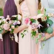 Multicolor Bridesmaids Dresses