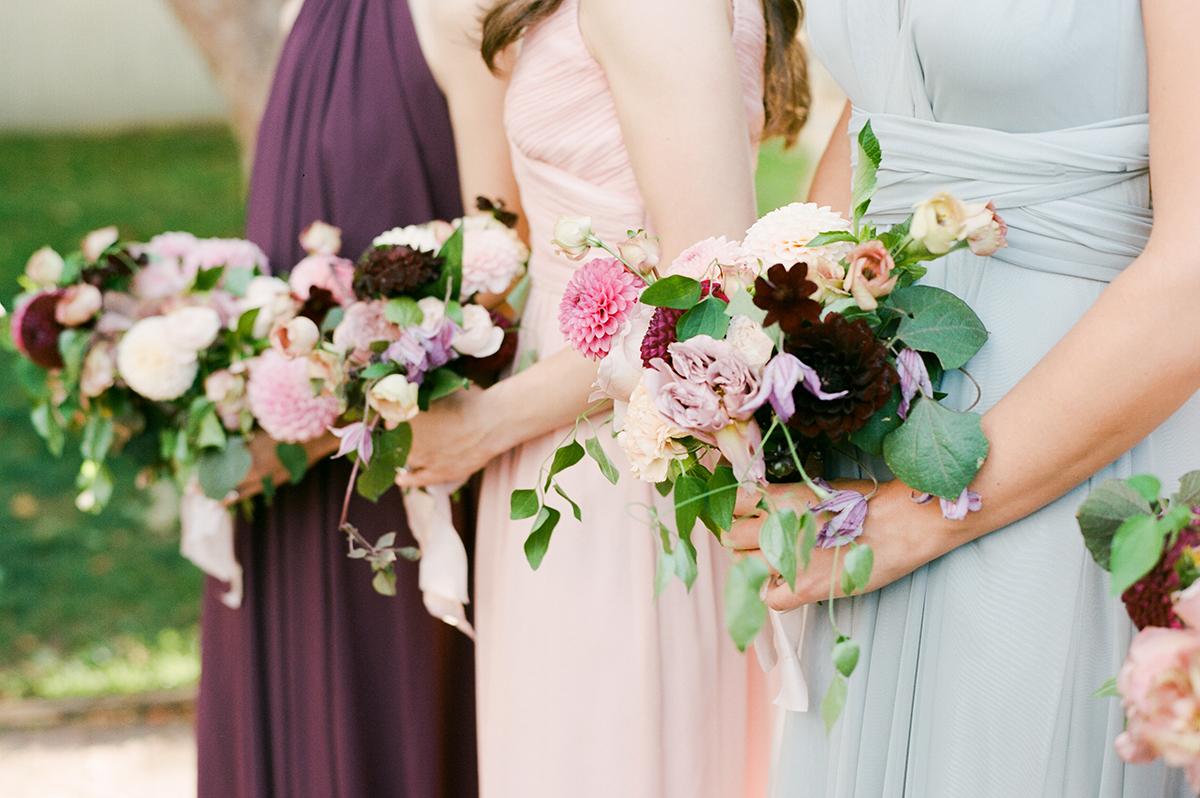 Multicolor Bridesmaids Dresses