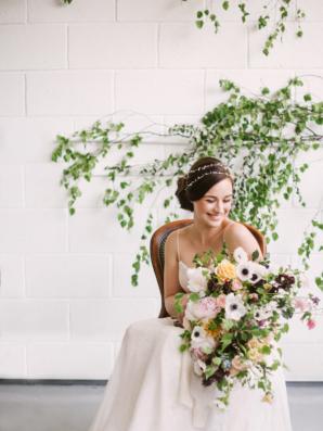 Organic Bridal Look