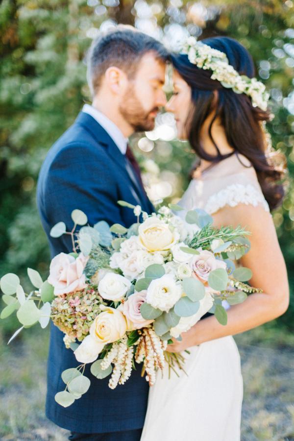 Pale Pastel Bridal Bouquet