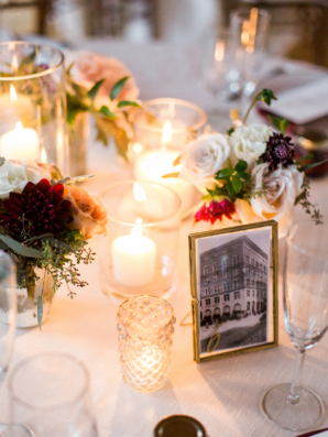 Picture Table Numbers for Wedding