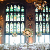 Reception in Stained Glass Ballroom