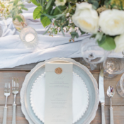 Sage Green and Ivory Wedding