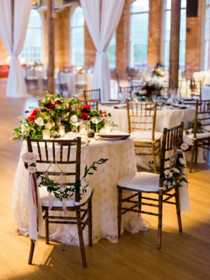 Sweetheart Table for Wedding