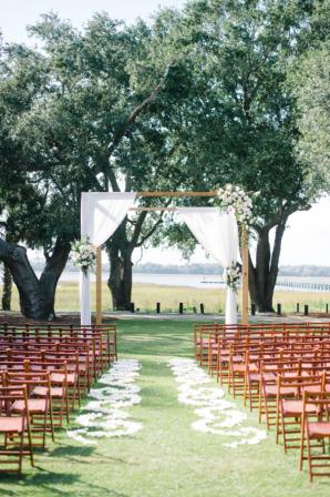 Wedding Canopy Under Trees