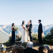 Wedding Ceremony in Aspen