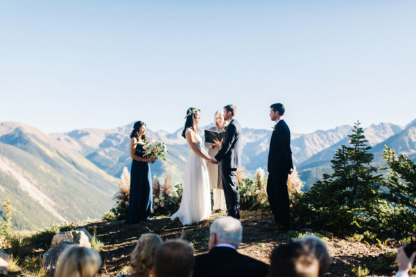 Wedding Ceremony in Aspen