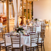 Wedding Reception in Industrial Space