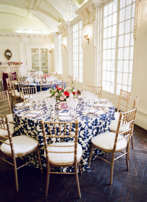 Wedding at the Daughters of the American Revolution Headquarters
