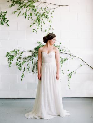 Whimsical Bridal Look