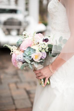 Bouquet of Pastel Colors