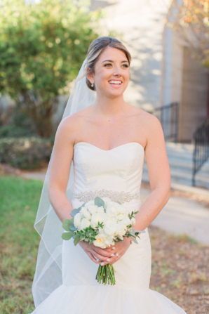 Bride in Hayley Paige Dress