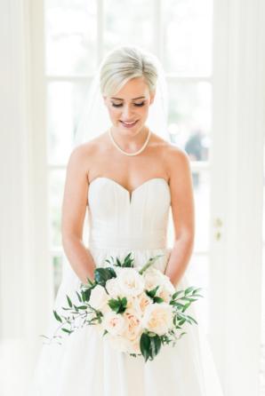 Classic Bride in Amsale