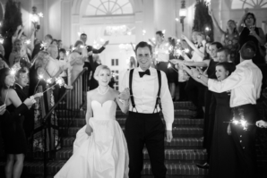 Classic Southern Wedding Exit