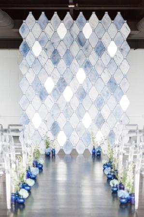 Diamond Wedding Backdrop