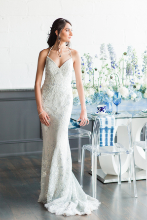 Sapphire Blue Wedding Dresses