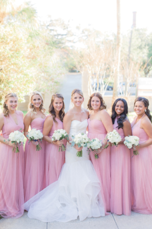 Jenny Yoo Bridesmaids in Pink