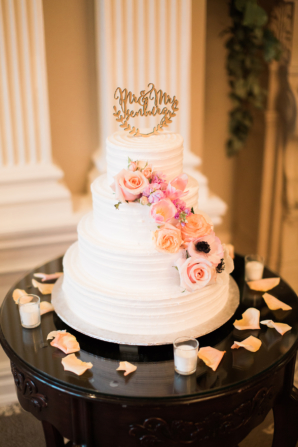 Wedding Rings Cake Topper 91 Beautiful Mantel with Greenery and