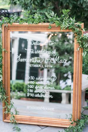 Mirror Wedding Timeline