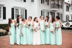 Seafoam Green Bridesmaid Dresses