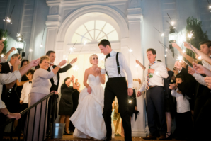 Sparklers for Wedding Exit