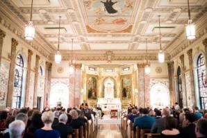 Wedding Ceremony in School Chapel