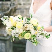 Asymmetrical Yellow Bouquet