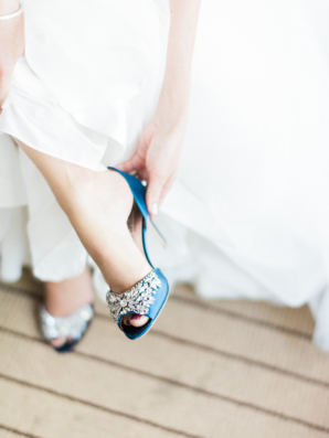 Blue Badgley Mischka Shoes