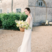 Bride at English Country Manor