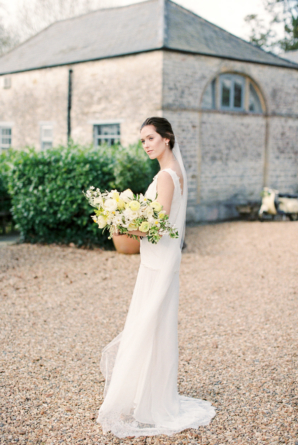 Bride at English Country Manor