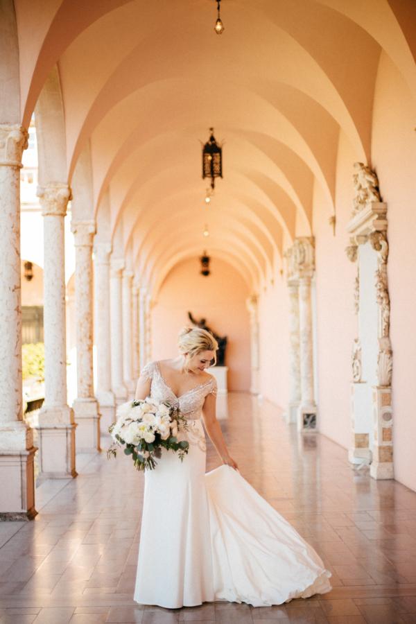 Bride in Alon Livne White