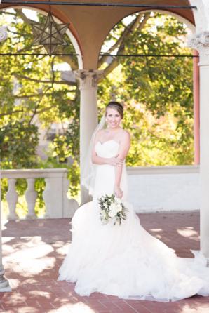 Bride in Alyssa Kristen