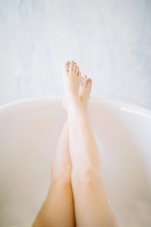 Bride in Bathtub