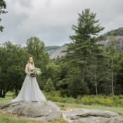 Bride in Hayley Paige Alexis June Weddings 1
