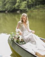 Bride in Hayley Paige Alexis June Weddings 11