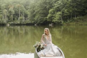 Bride in Hayley Paige Alexis June Weddings 13