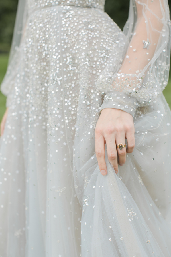 Bride in Hayley Paige Alexis June Weddings 2