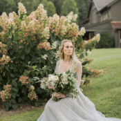 Bride in Hayley Paige Alexis June Weddings 5