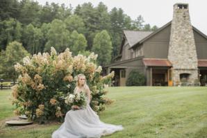 Bride in Hayley Paige Alexis June Weddings 6