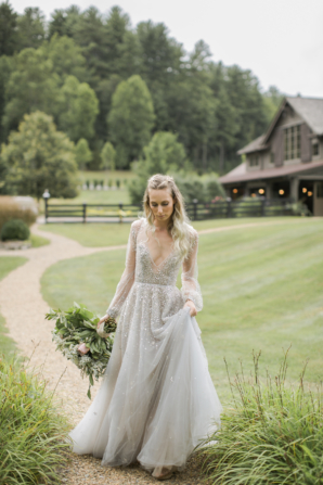Bride in Hayley Paige Alexis June Weddings 7