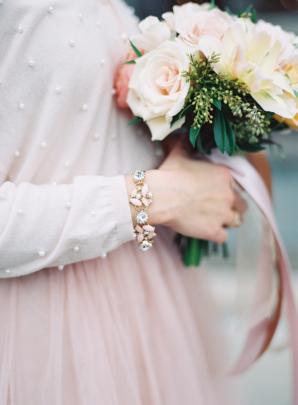 Bridesmaid in Cardigan