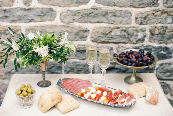 Charcuterie Display at Wedding